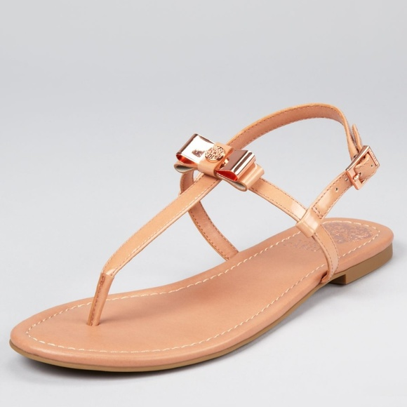 3c3a8c60e Vince Camuto Rose Gold Sandals LIKE NEW. M 5b43aafda5d7c62291a85f16